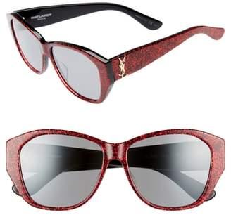 Saint Laurent 56mm Sunglasses