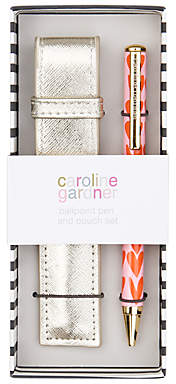 Caroline Gardner Hearts Ballpoint Pen & Pouch