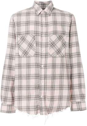 Amiri Faded Plaid shirt
