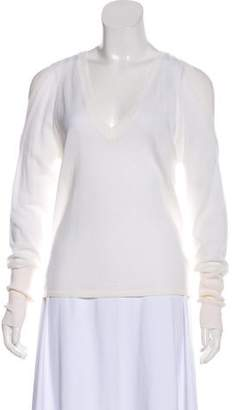 Dion Lee Merino Wool Cold-Shoulder Sweater w/ Tags