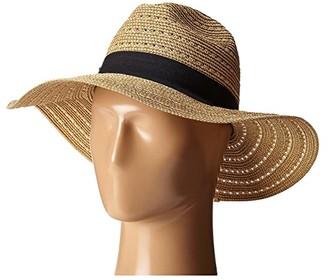 San Diego Hat Company UBM4454 4 Inch Brim Panama Fedora Hat with Gold Lurex Specs