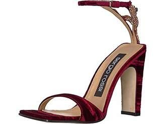 Sergio Rossi Women's SR1 Heeled Sandal Ruby