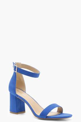 boohoo Low Block Heels