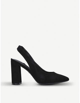 Nine West Arerick suede slingback courts
