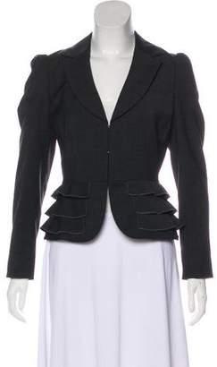 Rebecca Taylor Puffed Sleeve Blazer