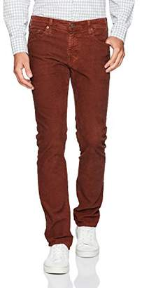 AG Adriano Goldschmied Men's Matchbox Slim Straight Leg Corduroy