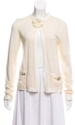 Lanvin Cashmere Long Sleeve Cardigan