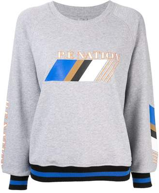 P.E Nation Elite Run sweatshirt
