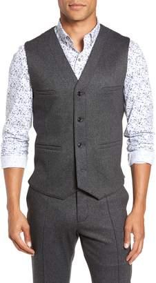 W.R.K Slim Fit Alfa Herringbone Vest