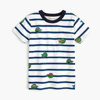 Nickelodeon Kids' crewcuts X NickelodeonTM striped Teenage Mutant Ninja Turtles T-shirt