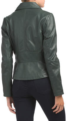 Badgley Mischka Genuine Leather Jacket
