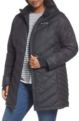 Columbia Heavenly Water Resistant Insulated Long Hooded Jacket