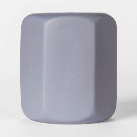 Geo Ceramic Candle Vanilla Lavender 11.3oz