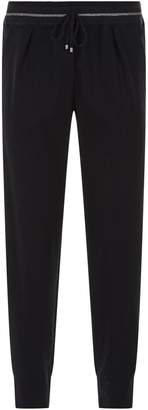 Lorena Antoniazzi Tailored Tapered Sweatpants