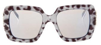 Marc Jacobs Marc Jacobs Reflective Square Sunglasses