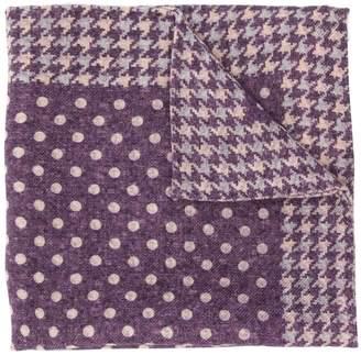 Brunello Cucinelli patterned scarf