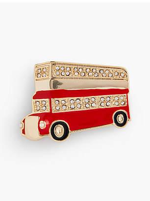 Talbots City Bus Brooch
