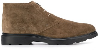 Hogan classic lace-up boots