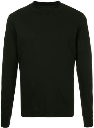 Attachment long-sleeved T-shirt