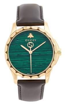 Gucci - Gg Timeless Green Stone Watch - Mens - Green Multi