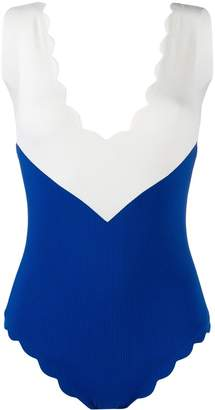 Marysia Swim chevron one-piece swimsuit