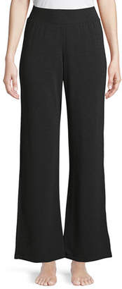 Neiman Marcus Majestic Paris for French Terry Wide-Leg Pants