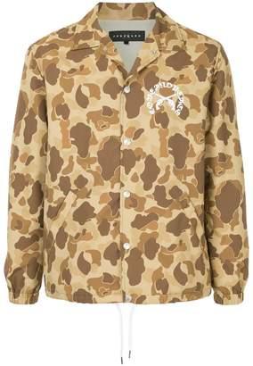 Roar camouflage print jacket