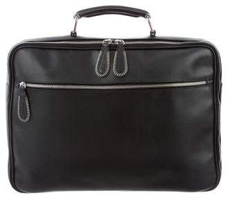 Dolce & Gabbana Textured Leather Briefcase