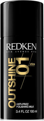 Redken Outshine 01 Anti-Frizz Polishing Milk, 3.4-oz, from Purebeauty Salon & Spa