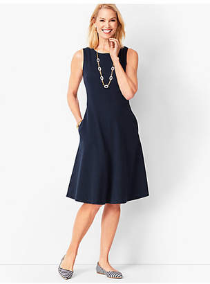 Talbots Fit & Flare Knit Dress