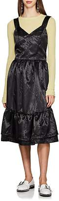 Comme des Garcons Women's Satin Tiered Dress