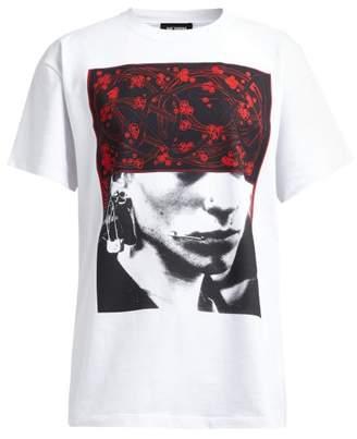 Raf Simons Photograph Print Cotton Jersey T Shirt - Womens - White Multi