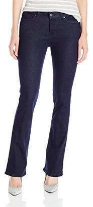 Calvin Klein Jeans Women's Modern Bootcut Jean, Rinse, 28/6 Short $25.73 thestylecure.com