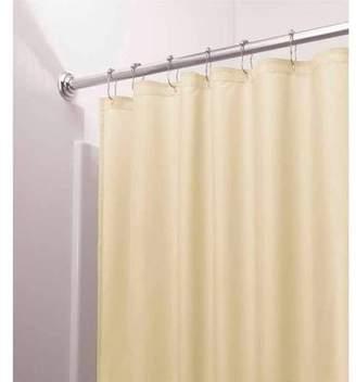 InterDesign Mildew-Free, Water-Repellent Fabric Shower Curtain Liner, Various Sizes