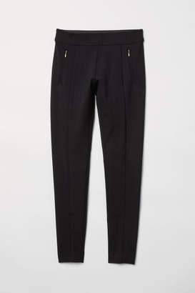 H&M Dressy Leggings - Black