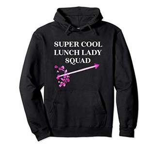 Super Cool Lunch Lady Squad Funny School Hoodie Gift