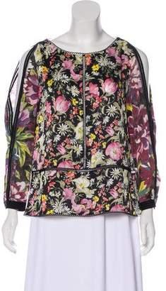 3.1 Phillip Lim Silk Floral Print Blouse w/ Tags