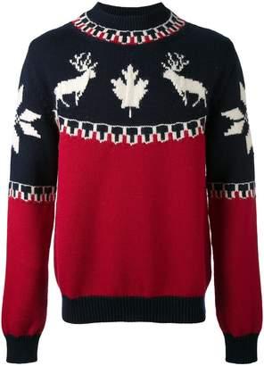 DSQUARED2 intarsia knit