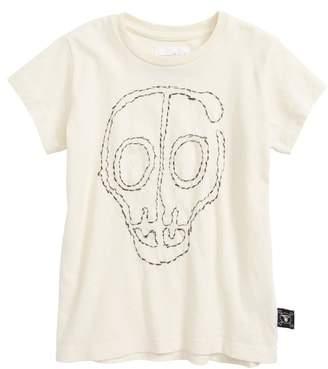 Nununu Embroidered Skull T-Shirt