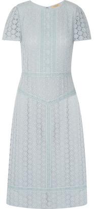 Burberry - Guipure Lace Midi Dress - Sky blue $1,595 thestylecure.com