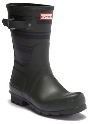 Hunter Garden Stripe Short Rain Boot