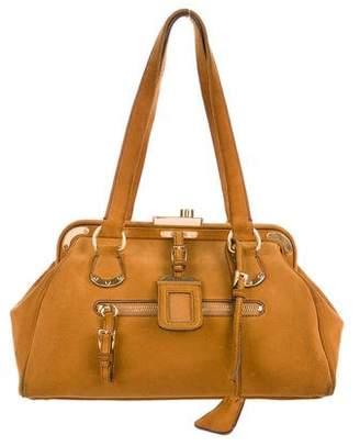 Prada Scamosciato Oro Doctor Bag