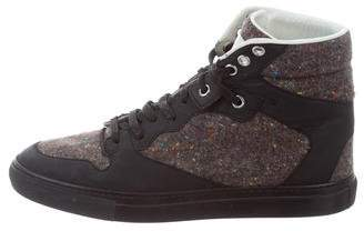 clearance sast Balenciaga Donegal High-Top Sneakers really cheap shoes online shopping online outlet sale FUDyohGsPA