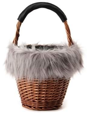 Grove (グローブ) - グローブ ウィローエコファー巾着バッグ