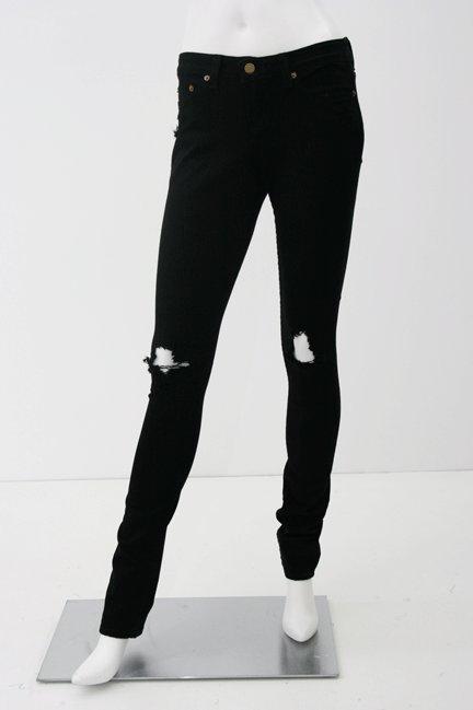 Jet Black Thrasher Skinny Jean