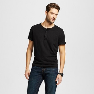 Merona Men's Short Sleeve Henley Shirt $12.99 thestylecure.com