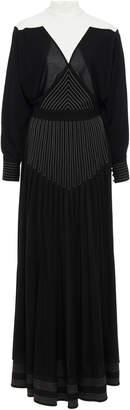 Givenchy High-Necked Jersey Maxi Dress