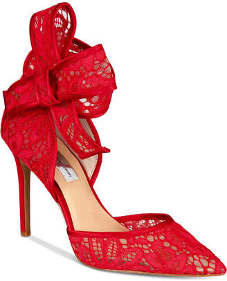 INC International Concepts I.n.c. Kaiaa Bow Evening Pumps, Created for Macy's Women's Shoes