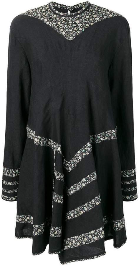 short flared dress