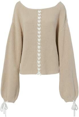 Tabula Rasa Pama Lace-Up Sweater